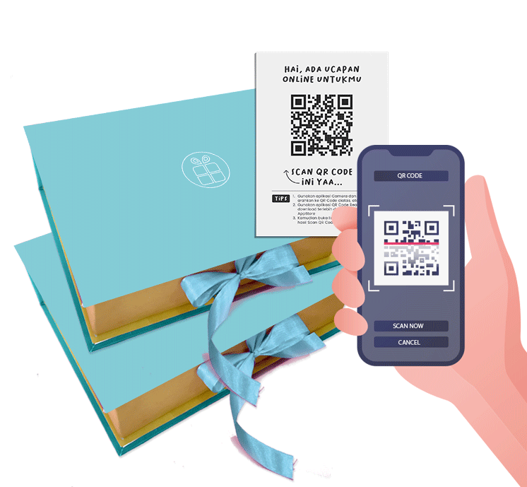 QR Code E-Card
